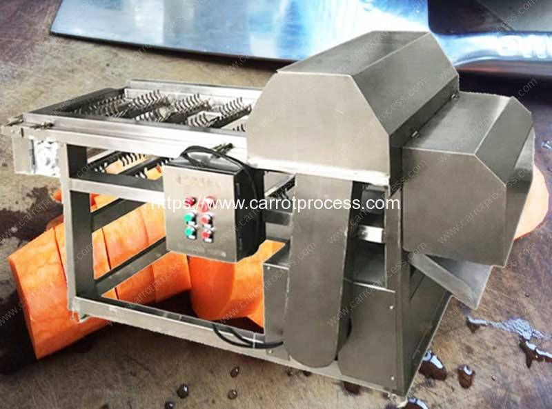 Automatic Carrot Segment Chopping Cutting Machine For Sale Carrot