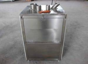 Automatic Cylinder Type Carrot Chip Slicing Machine