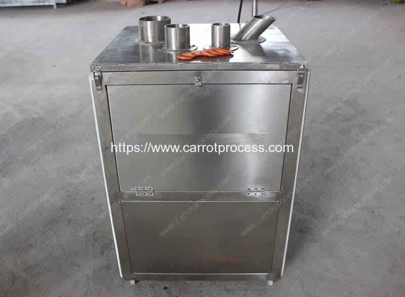 Automatic-Cylinder-Type-Carrot-Chip-Slicing-Machine