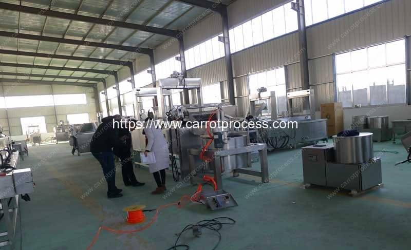 Carrot-Fries-Making-Machine-Manufacture-Factory-Visit-Romiter-Machinery