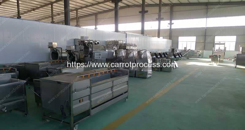 Carrot-Processing-Machine-Production-Line-Manufacture-Factory-Visit-Romiter-Machinery