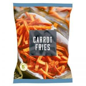 Full Automatic Frying Carrot Fries Production Line