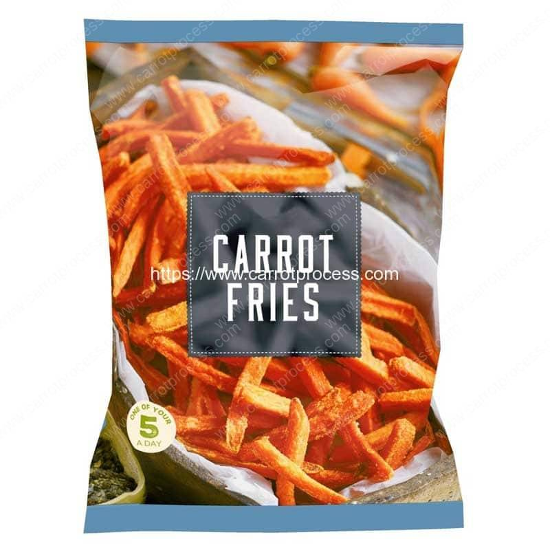 Frying-Carrot-Fries-Production-Line