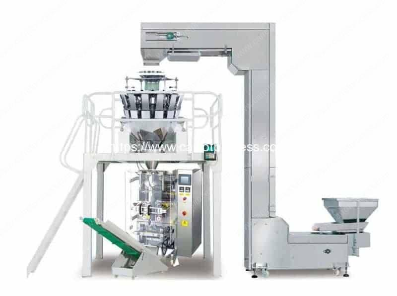 Full-Automatic-Carrot-Chips-and-Carrot Fries-Packing-Plant