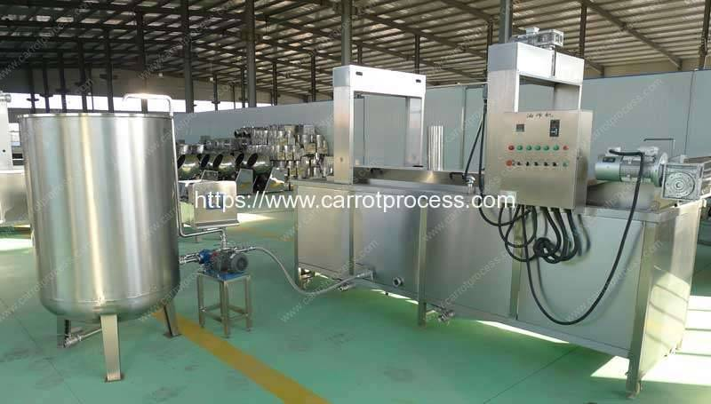 Full-Automatic-Fryings-Machine-with-Oil-Filter-Tank