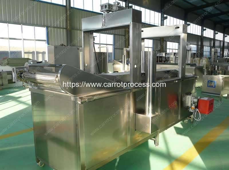 Full-Automatic-Natural-Gas-Heating-Frying-Machine