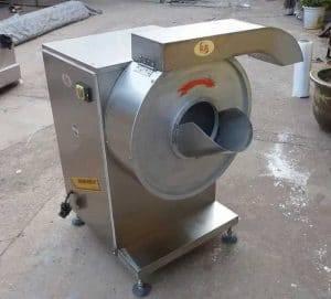 Máquina automática para cortar palitos de zanahoria