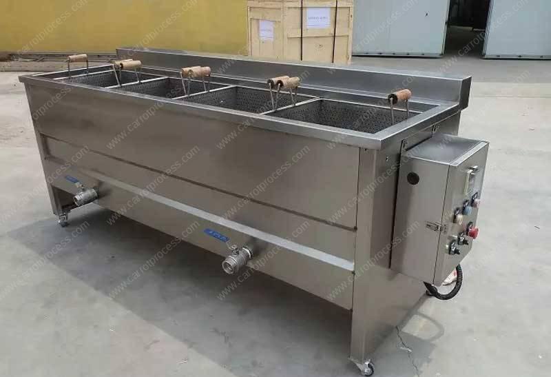 Manual-Carrot-Fries-Blanching-Machine