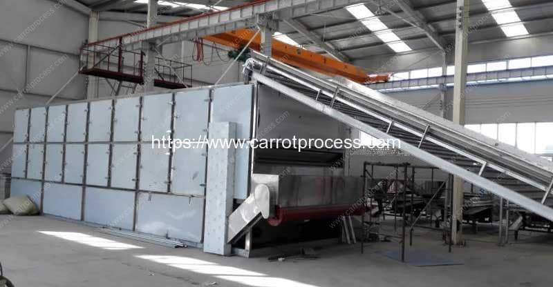 Natural Gas-Coal-Wood-Heating-Full-Automatic-Multi-Layer-Carrot-Drying-Oven