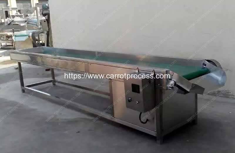 Peeled-Carrot-Selecting-Conveyor-for-Carrot-Production-Line