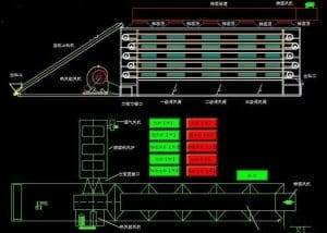 Structure-Drawing-of-Full-Automatic-Multi-Layer-Belt-Type-Dryer-Oven