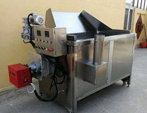 Auto-Discharge Batch Type Carrot Frying Machine
