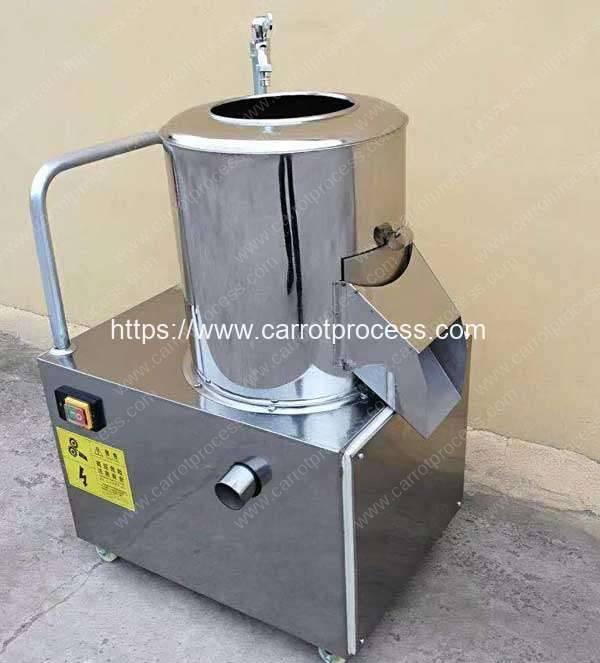 Drum-Type-Baby-Carrot-Washing-Peeling-Machine