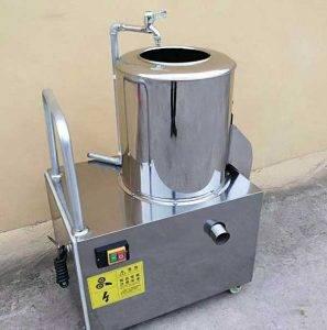 Drum-Type-Washing-Peeling-Machine-for-Baby-Carrot-Making