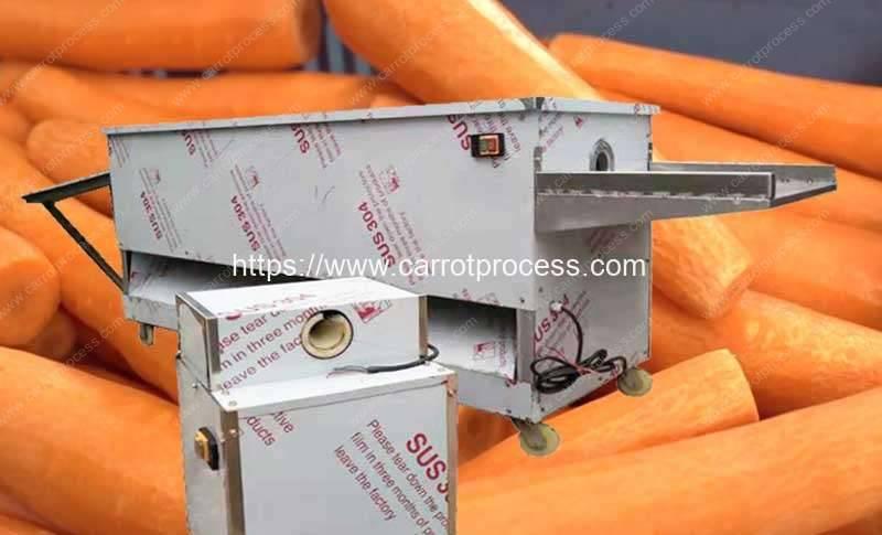 Multi-Functional-Blade-Type-Carrot-Peeling-Machine