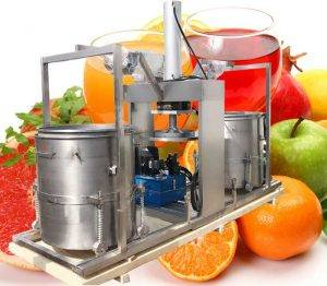 Double-Drum-Hydraulic-Type-Carrot-Juice-Pressing-Squeezing-Machine