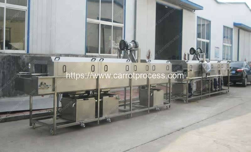 High-Pressure-Water-Spray-Plastic-Tray-Cleaning-Machine