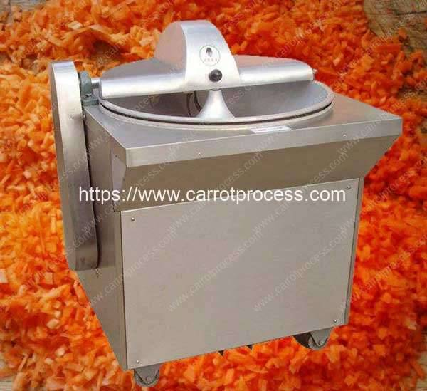 Bowl Type Carrot Chopping Cutting Machine
