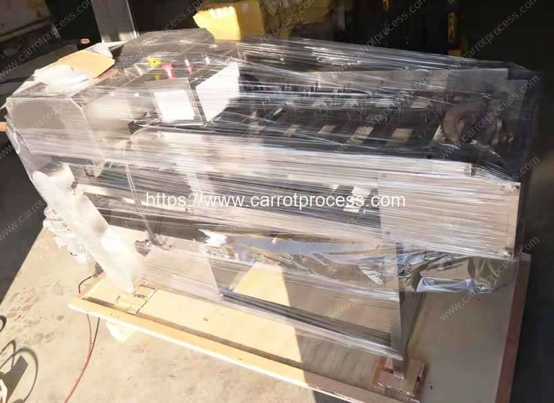 Automatic-Carrot-Set-Size-Segment-Cutting-Machine-Plywood-Pack-for-Poland-Customer