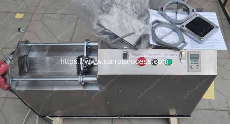 Automatic-Push-Type-Carrot-Stick-Cutting-Machine-Tool-for-Poland-Customer