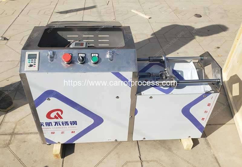 Automatic-Push-Type-Carrot-Stick-Cutting-Machine-for-Poland-Customer