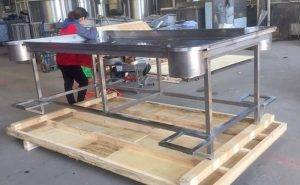 Stainless Steel Desk with Filling Port for USA Customer