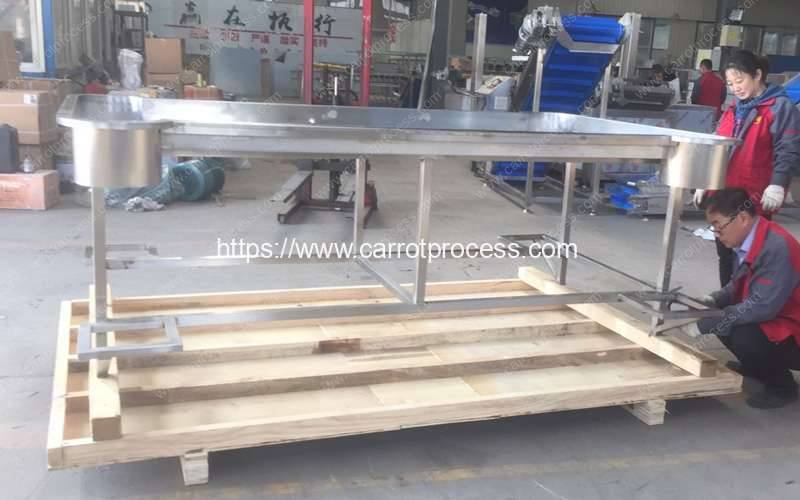 Stainless-Steel-Packing-Desk-with-Filling-Port