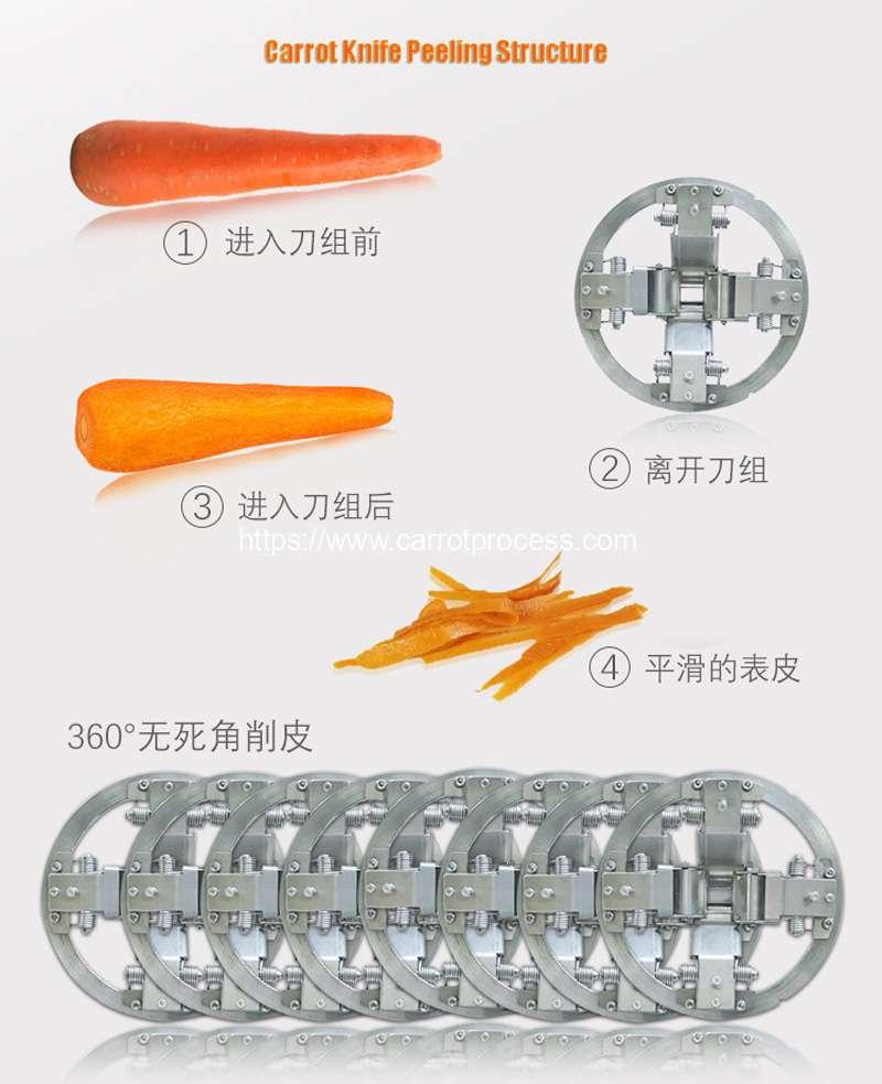 Automatic-Knife-Carrot-Peeling-Machine-internal-Structure
