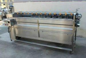 Automatic Screw Feeding Type Carrot Washing Peeling Machine