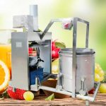 Hydraulic Type Carrot Juice Pressing Squeezer Machine
