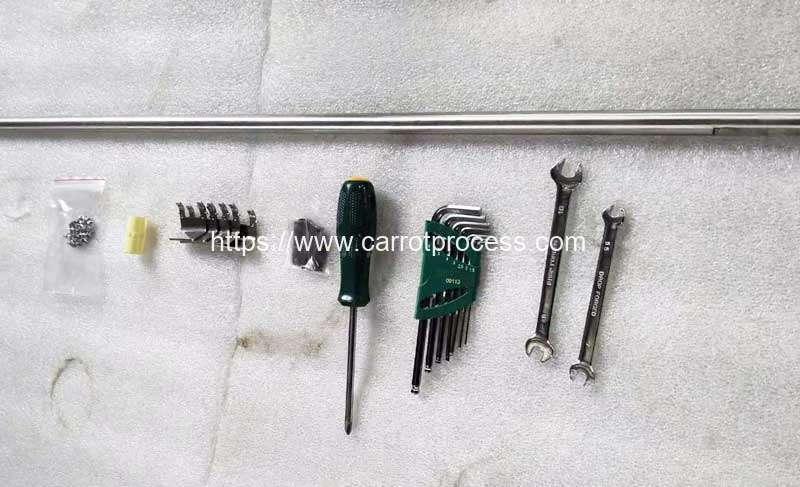 Automatic-Carrot-Knife-Peeling-Machine-Tool-for-Poland-Customer